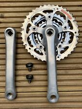 Shimano STX FC-MC34 Crankset - 175mm - Square Taper - Retro Mountain Bike MTB