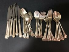 Reed And Barton English Chippendale Sterling Flatware Set