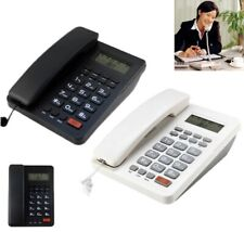 Corded Telephone with Caller ID Display Handsfree Landline Phone Home Hotel US