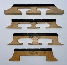 Vintage Grover Five String Banjo Bridges - NOS - Mixed Lot of 4