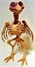 "HALLOWEEN Plastic Animal Skeleton 8"" CROW / RAVEN Haunted House Prop Decor"