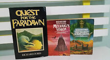 Richard ford set of 3 fantasy books- one hardcover with a dustjacket! faradawn