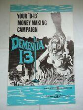 DEMENTIA 13/COPPOLA//U17/ u.s.pressbook