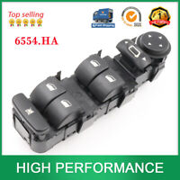 6554.HA New Electric Power Window Master Control Switch for Citroen C4 2004-2010