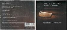 DAVID MCCORMACK / POLAROIDS - THE TRUTH ABOUT LOVE - OZ 14 TRK CD - CUSTARD