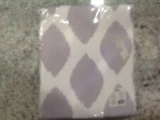"Nip Better Homes & Gardens ikat diamonds Grey Curtain Panel 52""x95"""