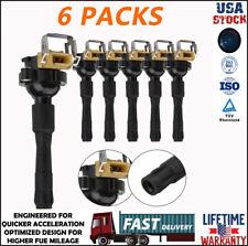 6 Packs Ignition Coil Pack for BMW M3 X5 330i 323i 328i 528i 530i 740iL UF300 US