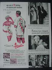 1951 Catalina Fashion Sweepstakes Carribean Vacation Vintage Print Ad 12517