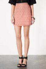 Gonne e minigonne da donna rosa floreale Taglia 36