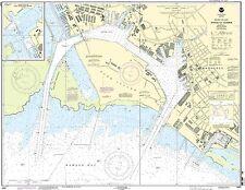 NOAA Chart Island of Oahu Honolulu Harbor 41st Edition 19367