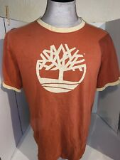 Vintage Timberland Ringer Shirt Size XL