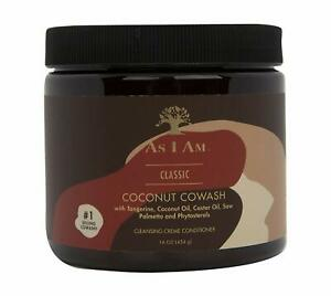 As I Am Naturally Coconut CoWash Cleansing Conditioner