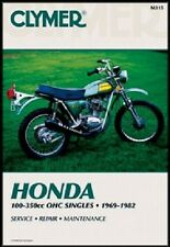 CLYMER SERVICE MANUAL HONDA CB100 1970-72, CB125S 1973-83, CL100 70-72, CT125 77