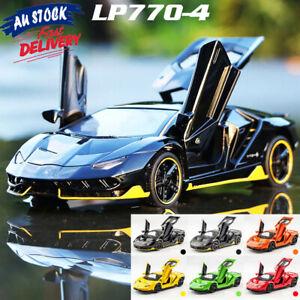 1:32 Lamborghini Centenario LP770-4 Diecast Sound&Light Alloy Car Model Toy Gift