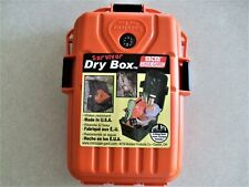 Mtm Survivor Dry Box Case Storage Hunting Camping Hiking O Ring Sealed Compass