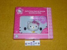 NUOVO HELLO KITTY OPTICAL MOUSE AND MOUSE MAT NEW SEALED   KT4098 WINDOWS MAC