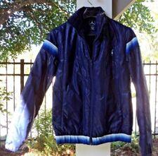 Vintage Mercedes Stuggart Puffer Ski Jacket Navy Blue Size Small