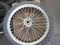 1996 Honda CR250 Front Wheel,  12/19d