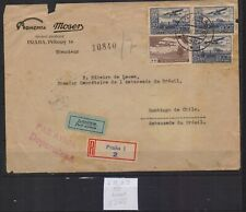 ! Czech Republic 1930. Air Mail Letter Stamp. Yt#A15,A17. €100.00!