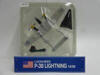 Del Prado Lockheed P38 Lightning 1/115 Scale War Aircraft Diecast Display 49