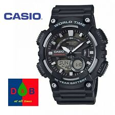 Casio Men's AEQ-110W-1AVEF Analogue/Digital Quartz Watch Resin Strap Good Condn