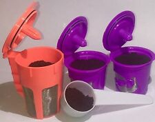 Keurig 2.0 Refillable Reusable K-Cups K-Carafe Filter Pod with Coffee Scoop