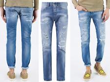 Diesel Buster Jeans Denim Usé 084CM 5 Poches Pantalons Look Usé 34/32