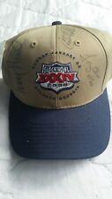 Super Bowl XXXIV 34 Hat NWT Signed by 5 NFL Players Pro Bowlers Atlanta GA