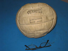 RARE BRAZILIAN MADE OLYMPUS 18 panel Leather VOLLEYBALL VINTAGE Display  21S3