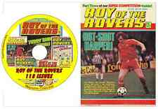 Roy of the Rovers 118 issues adventure football British Comics on DVD