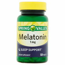 Spring Valley - Melatonin 1 mg, 120 Tablets - Exp 11/2017