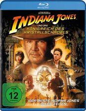 Blu-ray * INDIANA JONES & DAS KÖNIGREICH DES KRISTALLSCHÄDELS - Single #NEU OVP=