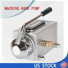 Manual Lubricating Oil Pump Hand Lubrication for Lather Punching Milling Machine