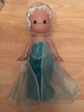 Disney precious moments frozen Elsa Doll In Original Box Stunning !