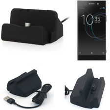 Docking Station per Sony Xperia XA1 Ultra USB Type C Caricabatterie nera cavo Do