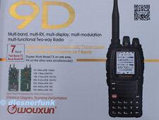Wouxun KG-UV9D 2m/70cm VHF/UHF  Funkgerät  RX 76-985 GERMANY SERVICE & HANDBUCH