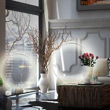 Jeu de 2 Ensemble LED table LAMPES LA VIE ess chambre Anneau chromé Spot