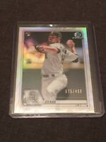 Dylan Cease 75/499 2020 Bowman Chrome Rookie Refractor
