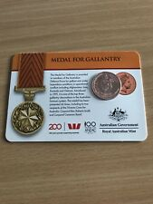 2017 Legends of the Anzacs Medal Collection - Medal For Gallantry COIN 8