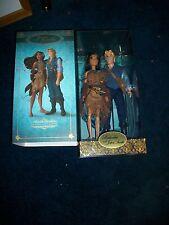 Disney Fairytale Pocohantas & John Smith Designer Collection Doll Set LE 2nd