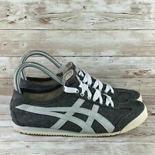 Onitsuka Tiger Mexico 66 Mens Size 7.5 Gray Slip On Lifestyle Running Sneakers