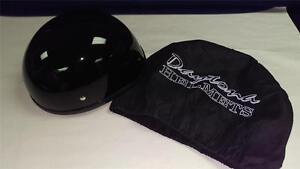 Daytona Helmets Eagle Helmet, Gloss Finish ~ Black ~ Size Medium (D11)