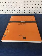 John Deere 643 Feller-Buncher  Technical Manual TM-1424