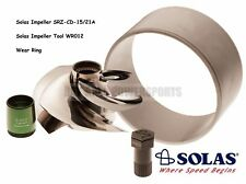 Solas Sea Doo 4-Tec 255 260 Impeller SRZ-CD-15/21A W/ Wear Ring & Tool