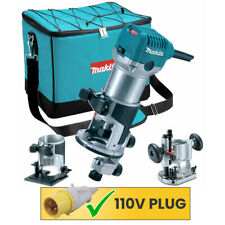 """Makita RT0700CX2 110V Tilt & Plunge 1/4"""" Router / Trimmer With Extra Bases"""