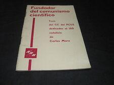 NOVOSTI/ Fundador del comunismo cientifico