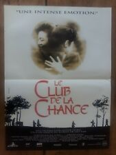 Affiche LE CLUB DE LA CHANCE wayne WANG oliver STONE production  40x60cm *