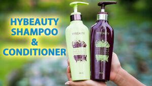 HYBEAUTY VITALIZIN Hair & Scalp Shampoo + Conditioner NATURAL HERBAL TreatmentB