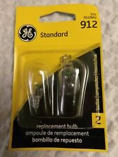 L@@K Two (2) GE 912 Miniature Lamp BULB AUTOMOTIVE REPLACEMENT