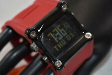 NIB! RARE! Nike Mettle Hammer Watch - Red/Black - WC0021-620 NEW BATTERY!